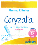 Boiron Coryzalia Solution buvable unidose B/20 à CLERMONT-FERRAND