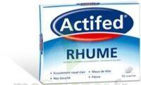 ACTIFED RHUME, comprimé à CLERMONT-FERRAND