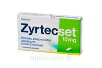ZYRTECSET 10 mg, comprimé pelliculé sécable à CLERMONT-FERRAND