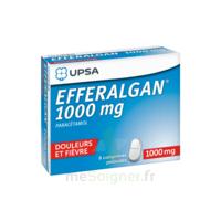 Efferalgan 1000 mg Comprimés pelliculés Plq/8 à CLERMONT-FERRAND