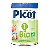 Picot Bio 1 Lait poudre B/800g à CLERMONT-FERRAND
