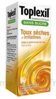 TOPLEXIL 0,33 mg/ml sans sucre solution buvable 150ml à CLERMONT-FERRAND