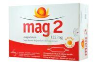 MAG 2 122 mg S buv en ampoule sans sucre édulcoré à la saccharine sodique 30Amp/10ml à CLERMONT-FERRAND