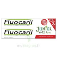 Fluocaril Junior Gel dentifrice Fruits rouges 6/12ans 2*75ml à CLERMONT-FERRAND