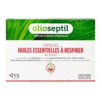 OLIOSEPTIL - Capsules Huiles essentielles à respirer - Nez dégagé à CLERMONT-FERRAND