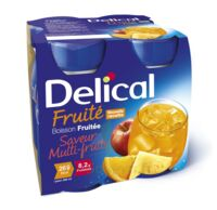 DELICAL BOISSON FRUITEE Nutriment multi fruits 4Bouteilles/200ml à CLERMONT-FERRAND