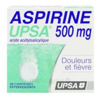 ASPIRINE UPSA 500 mg, comprimé effervescent à CLERMONT-FERRAND
