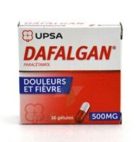DAFALGAN 500 mg Gélules 2plq/8 (16) à CLERMONT-FERRAND