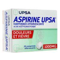 ASPIRINE UPSA TAMPONNEE EFFERVESCENTE 1000 mg, comprimé effervescent à CLERMONT-FERRAND