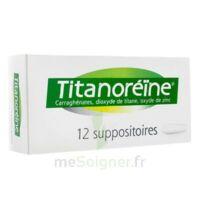 TITANOREINE Suppositoires B/12 à CLERMONT-FERRAND