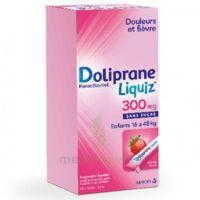 Dolipraneliquiz 300 mg Suspension buvable en sachet sans sucre édulcorée au maltitol liquide et au sorbitol B/12 à CLERMONT-FERRAND