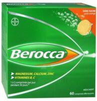 Berocca Comprimés effervescents sans sucre T/60 à CLERMONT-FERRAND