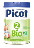 Picot 2 Bio Lait en poudre 800g à CLERMONT-FERRAND