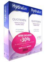 Hydralin Quotidien Gel lavant usage intime 2*200ml à CLERMONT-FERRAND