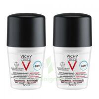 Vichy Homme Déodorant anti-transpirant anti trace 48H 2*Billes/50ml à CLERMONT-FERRAND