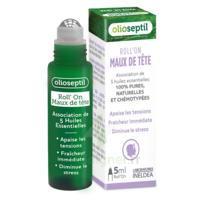 Olioseptil Huile essentielle maux de tête Roll-on/5ml à CLERMONT-FERRAND